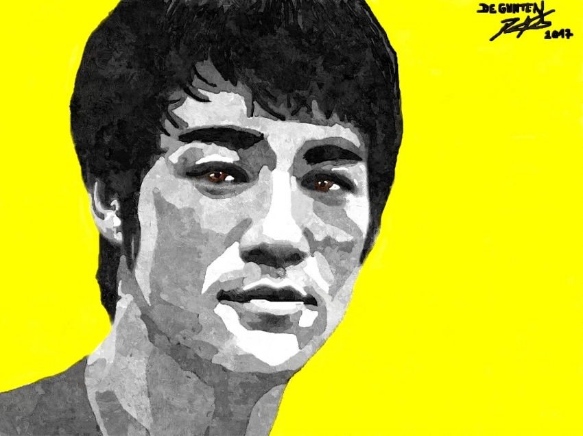 Bruce Lee by JIM